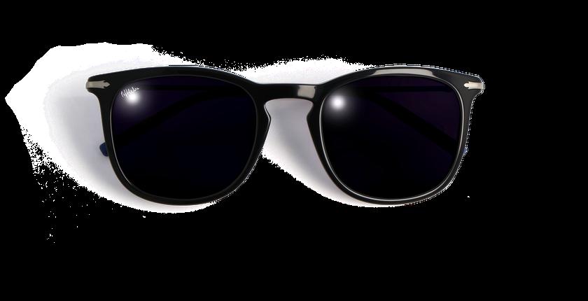 Lunettes de soleil homme BATH noir - vue de face
