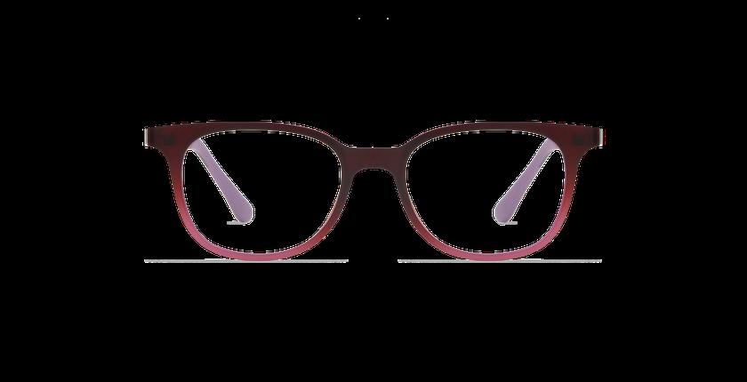 Lunettes de vue enfant SMART TONIC 11 rouge/rouge dégradé - Vue de face