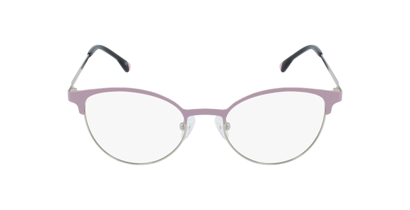 Óculos graduados senhora MAGIC 54 BLUEBLOCK - BLOQUEIO LUZ AZUL rosa/dourado - Vista de frente