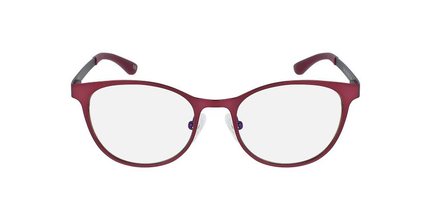 Lunettes de vue femme MAGIC 45 BLUEBLOCK rouge/rose - Vue de face