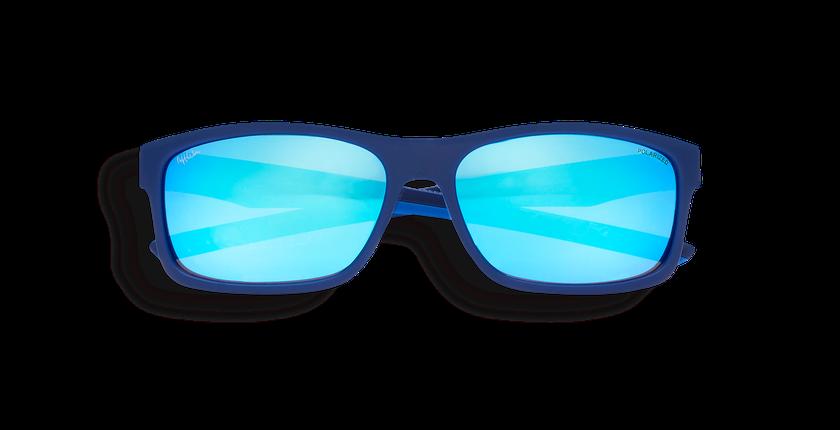 Lunettes de soleil homme JESSE bleu - Vue de face