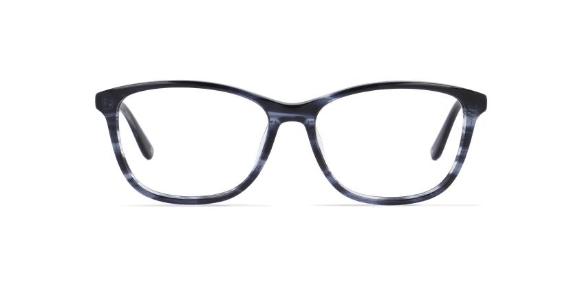 Lunettes de vue femme DAFNE bleu - Vue de face