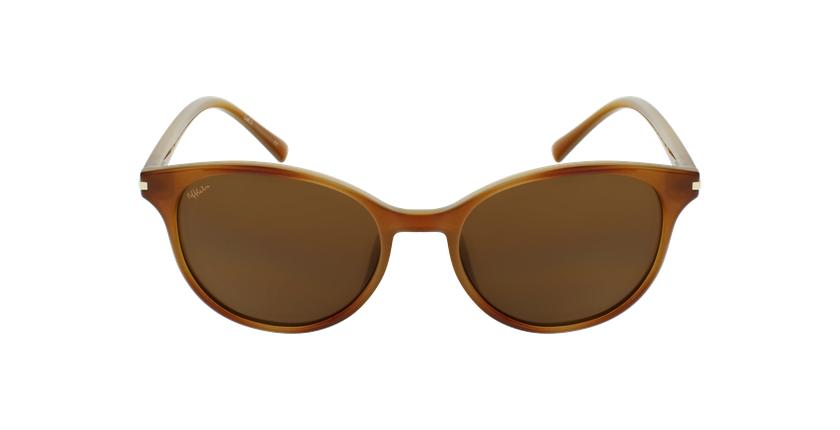 Óculos de sol SEROS HV tartaruga  - Vista de frente