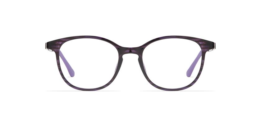 Lunettes de vue femme MAGIC 09 violet/violet foncé - Vue de face