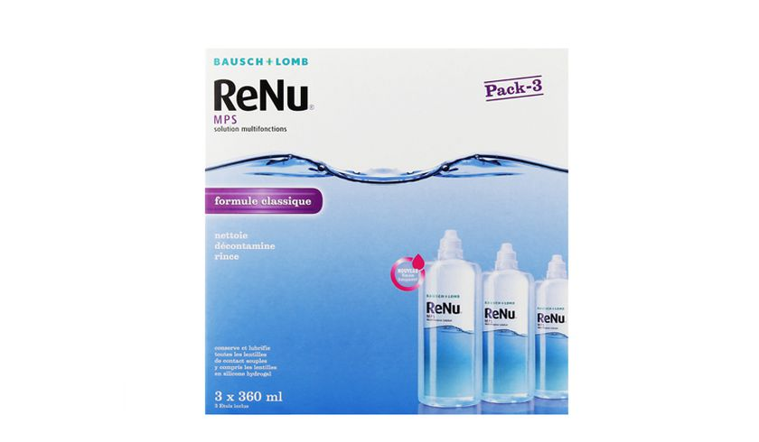 ReNu MPS 3x360ml - vue de face
