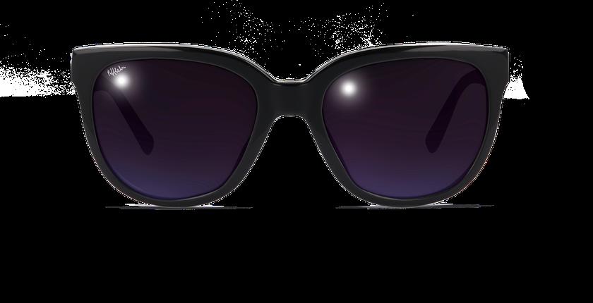 Lunettes de soleil femme MYLENE noir - Vue de face