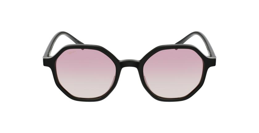 Óculos de sol senhora DELFIA BK preto - Vista de frente