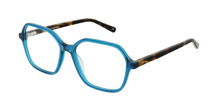 Óculos graduados senhora GARANCE GR (TCHIN-TCHIN +1€) verde - vue de 3/4