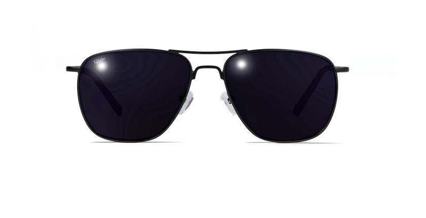 Óculos de sol homem JOHN preto - Vista de frente