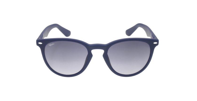 Lunettes de soleil H2O bleu - Vue de face