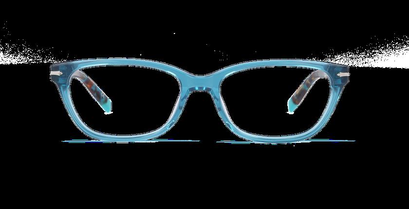 Lunettes de vue femme PLYMOUTH bleu - vue de face