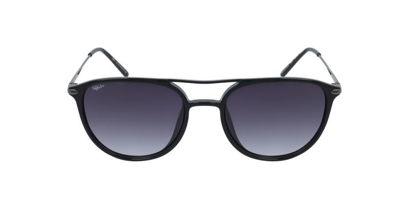 Óculos de sol homem SALCEDO BK preto - Vista de frente