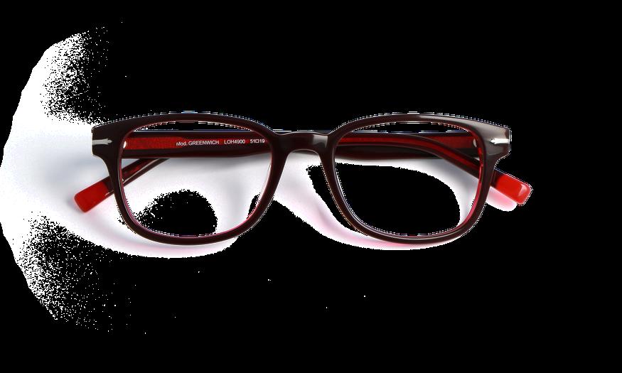 Lunettes de vue homme GREENWICH rouge