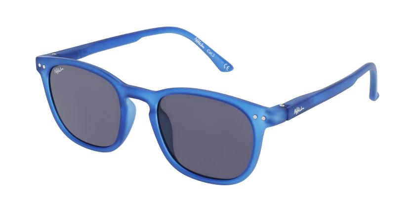 Óculos de sol criança VALME BL azul - vue de 3/4