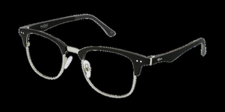 Óculos graduados MAGIC 92 Bk ECO FRIENDLY preto/prateado