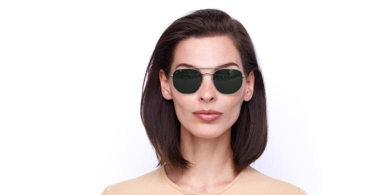 Óculos de sol STAN GD dourado