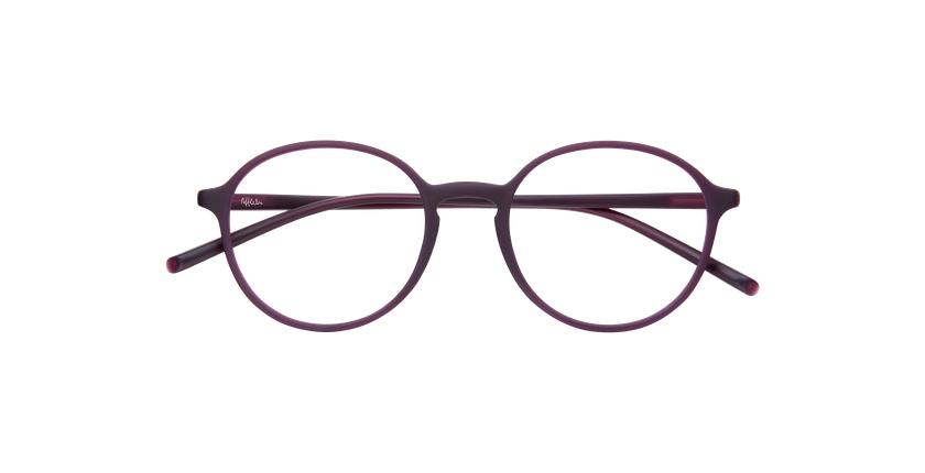 Óculos graduados homem LIGHT TONIC violeta - Vista de frente