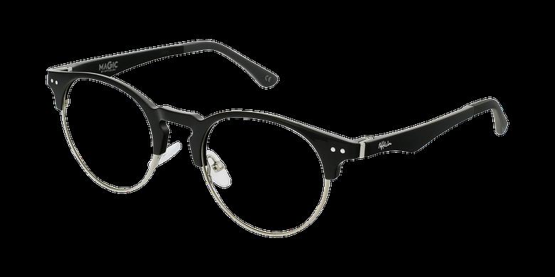 Óculos graduados MAGIC 93 BK ECO FRIENDLY preto/prateado
