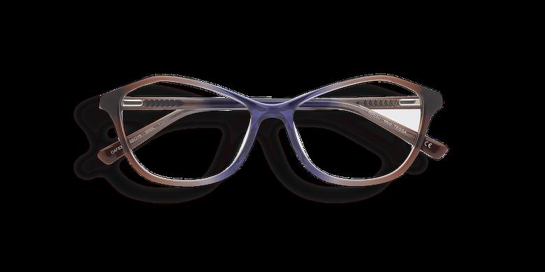 Óculos graduados senhora TESSA castanho castanho/azul