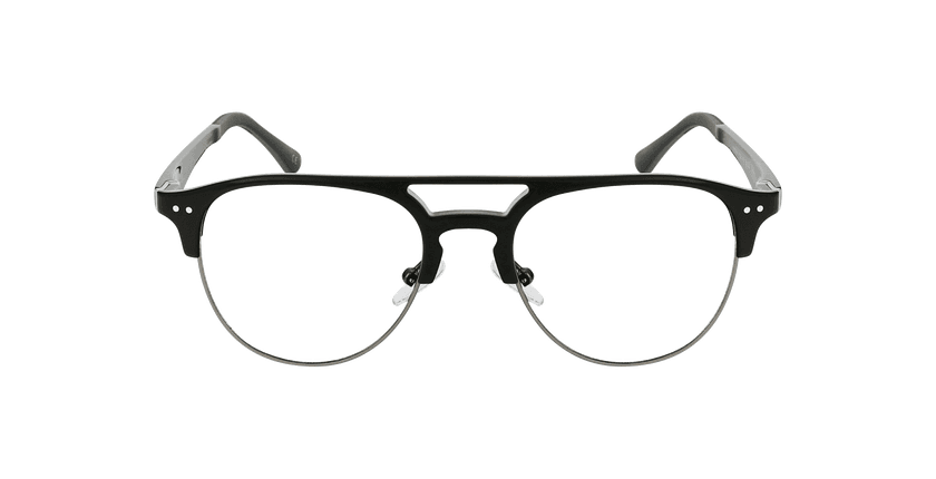 Óculos graduados homem MAGIC 91 Bk ECO FRIENDLY preto/cinzento - Vista de frente