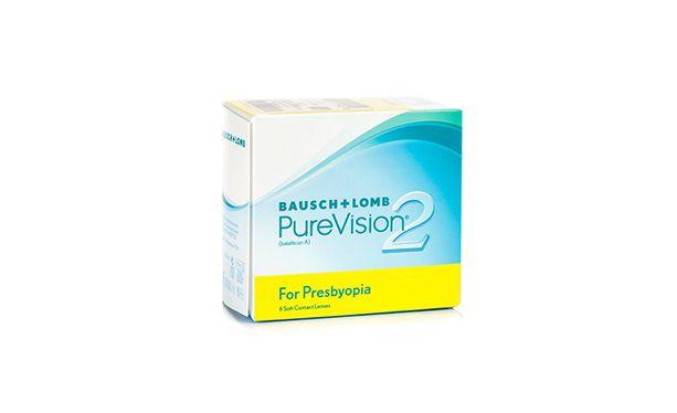 Lentilles de contact PureVision 2 HD for Presbyopia 6 L - Vue de face