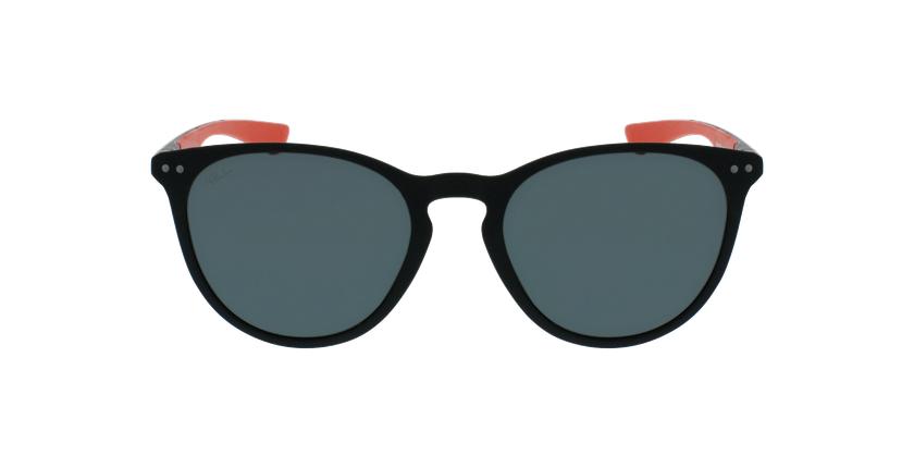 Óculos de sol BARTH POLARIZED BKRD preto/vermelho - Vista de frente