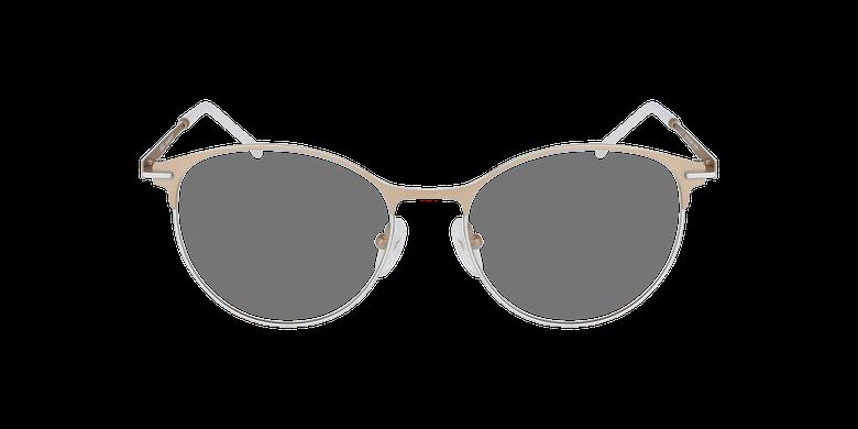 Óculos graduados senhora MEROPE BRWH bege/branco