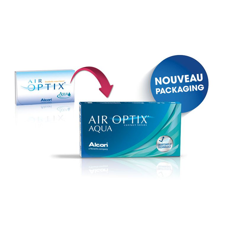 Lentilles de contact Air Optix Aqua 3L