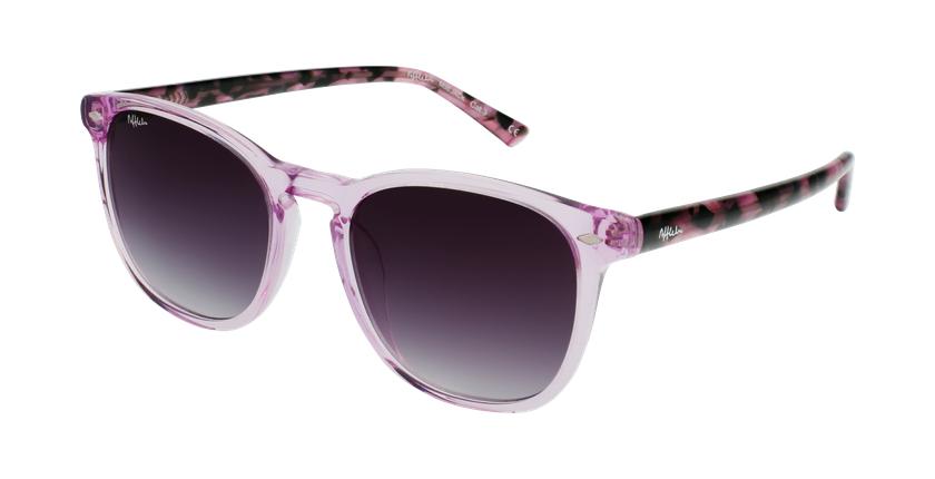 Óculos de sol JACK PK rosa/tartaruga - vue de 3/4
