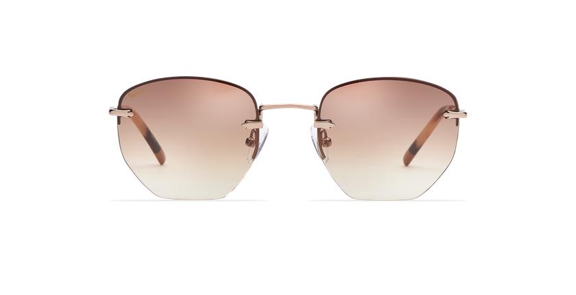Óculos de sol senhora JENNA BR castanho/dourado - Vista de frente