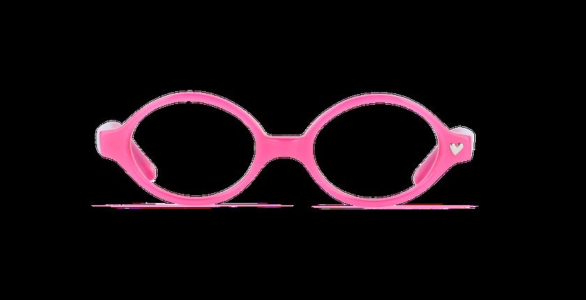 Lunettes de vue enfant SOLEN violet - Vue de face