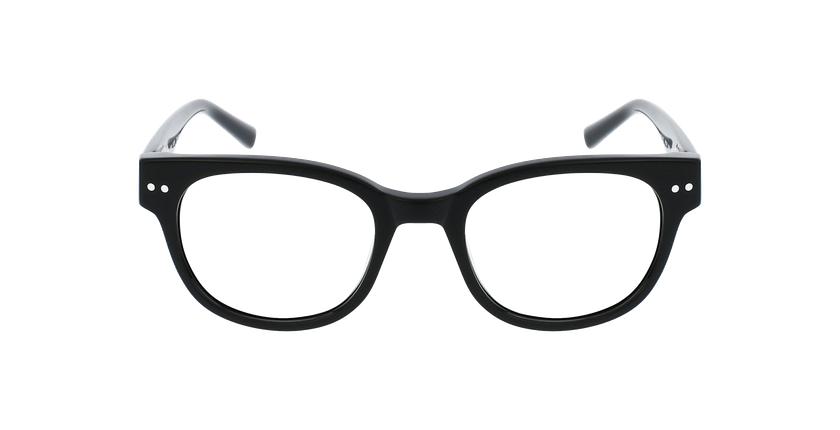 Lunettes de vue femme SWAN noir - Vue de face