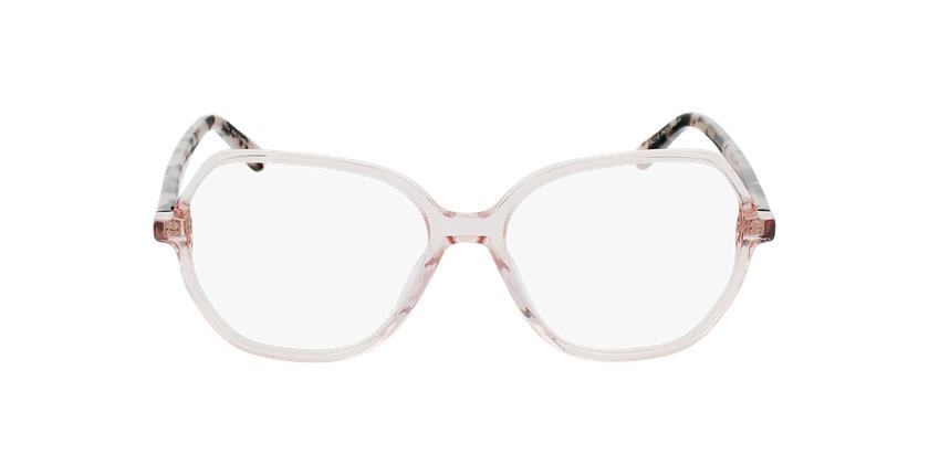 Óculos graduados senhora CONSTANCE PK (TCHIN-TCHIN +1€) rosa - Vista de frente