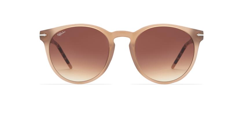 Óculos de sol senhora STACY BR castanho - Vista de frente
