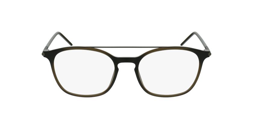 Lunettes de vue homme TMF71 gris/vert - Vue de face
