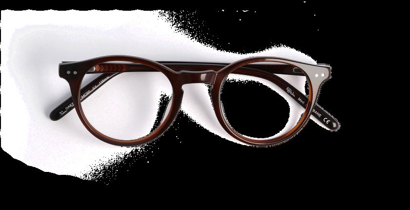 lunettes de vue brisbane marron afflelou. Black Bedroom Furniture Sets. Home Design Ideas