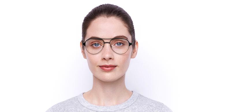 Óculos graduados NAEL BK (TCHIN-TCHIN +1€) preto/cinzento