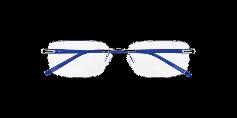 Óculos graduados homem LIGHT TONIC prateado/azul