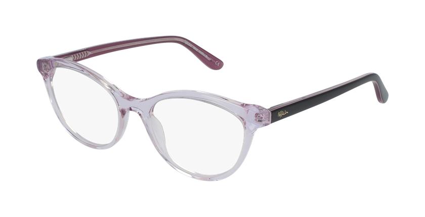 Óculos graduados senhora Amelle pk (Tchin-Tchin +1€) rosa - vue de 3/4