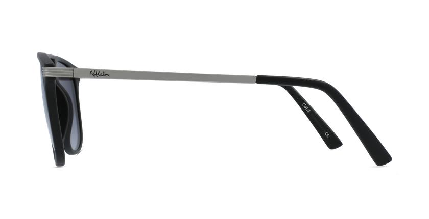 Óculos de sol homem NIERES BK preto/prateado - Vista lateral