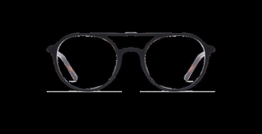 ... Óculos graduados homem LIGHT TONIC DECK preto - Vista de frente ... 99ed20ffbd