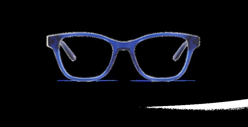 Lunettes de vue femme SAPHIR bleu - Vue de face