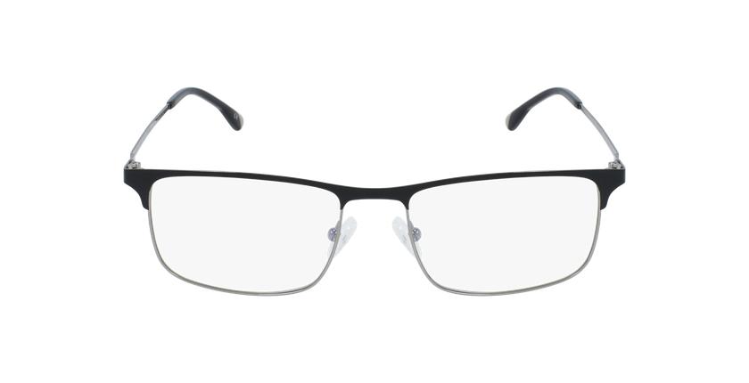Óculos graduados homem MAGIC 51 BLUEBLOCK - BLOQUEIO LUZ AZUL preto/cinzento - Vista de frente