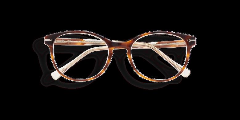 Óculos graduados senhora BELLEFONTAINE tartaruga /rosa