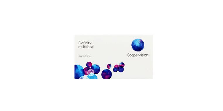 Lentilles de contact Biofinity® multifocal 6L