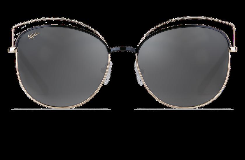Gafas de sol mujer BETTY negro/dorado - danio.store.product.image_view_face