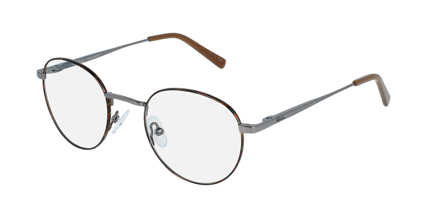 Óculos graduados homem MARIN TO (TCHIN-TCHIN +1€) tartaruga /cinzento - vue de 3/4