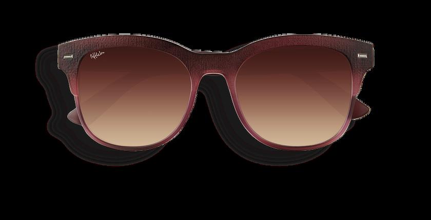 Gafas de sol mujer IBAITI rosa - vista de frente
