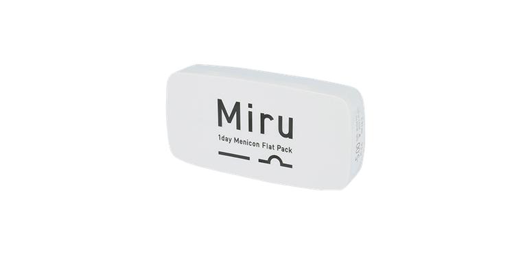 Lentilles de contact Miru 1day Menicon Flat pack - 30