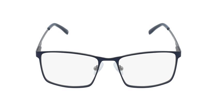 Óculos graduados homem CEDRIC BL (TCHIN-tCHIN +1€) azul/cinzento - Vista de frente